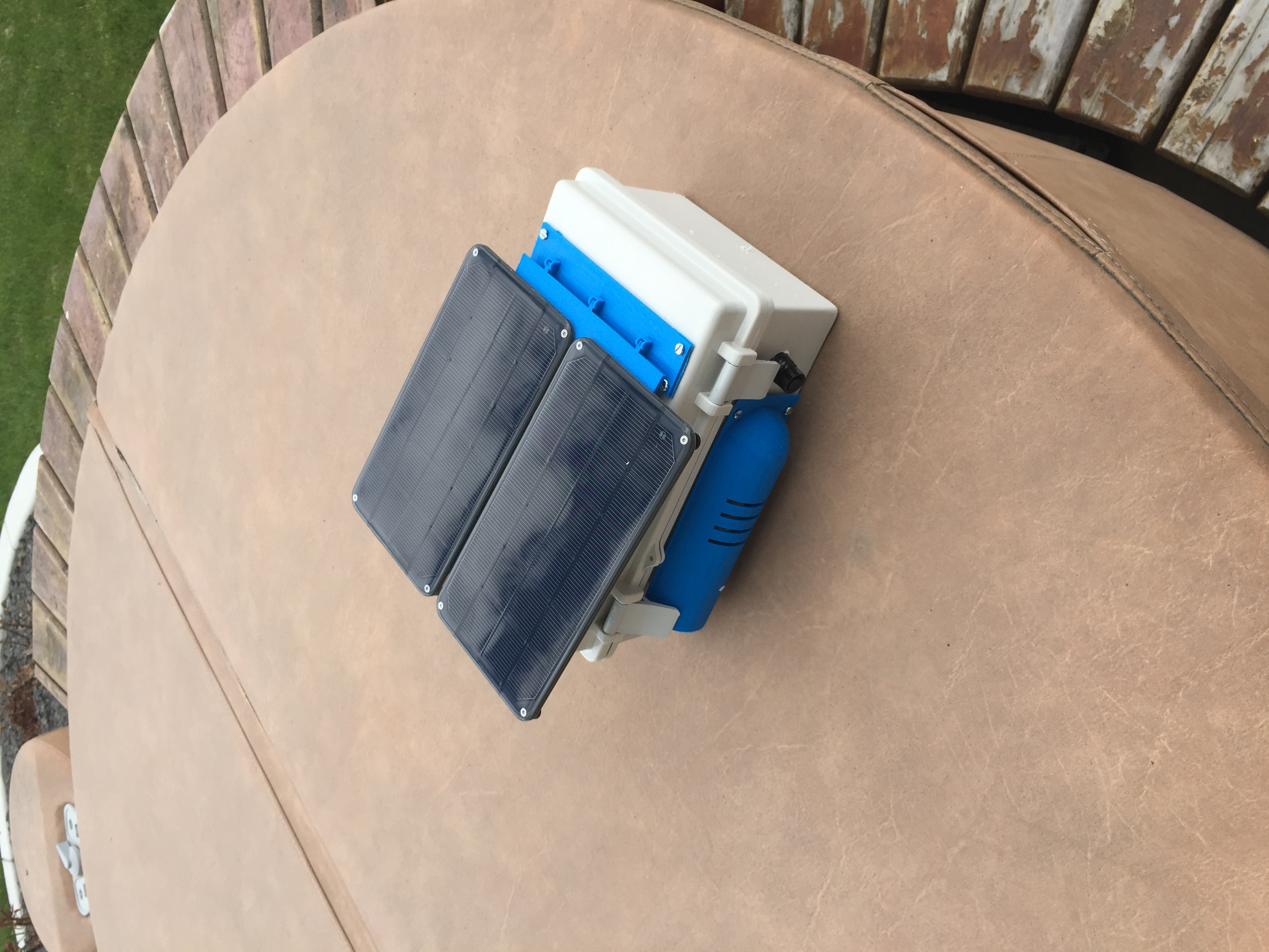 Turning The Pi On And Off Weatherpi Solar Power Switchdoc Labs Controller Up Your Raspberry With Latching Weather Sitting Outside For First Time Sans Weatherrack