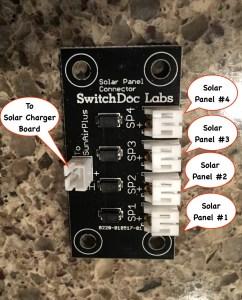 Multi Solar Panel Connector Board