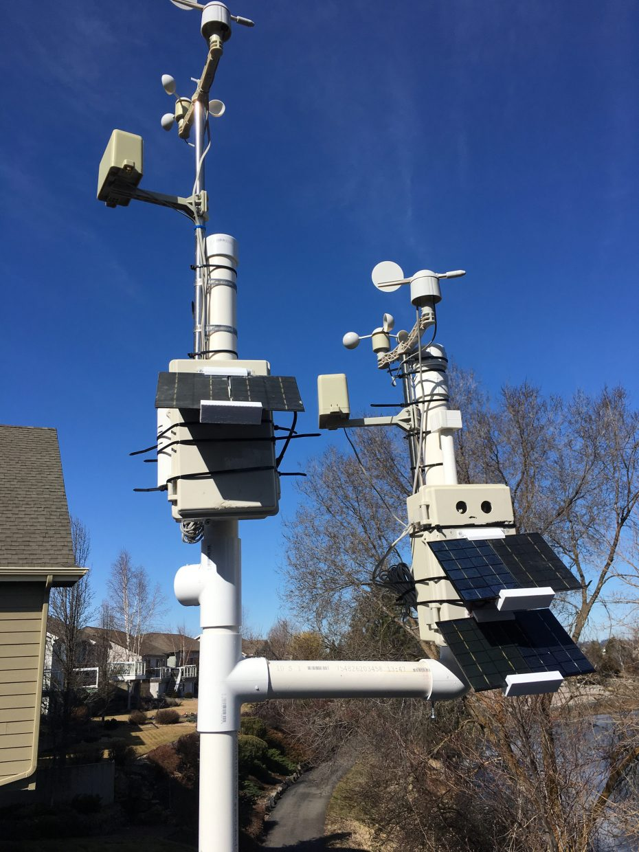 OurWeather Extender Package – Solar WXLink for Weather Sensors