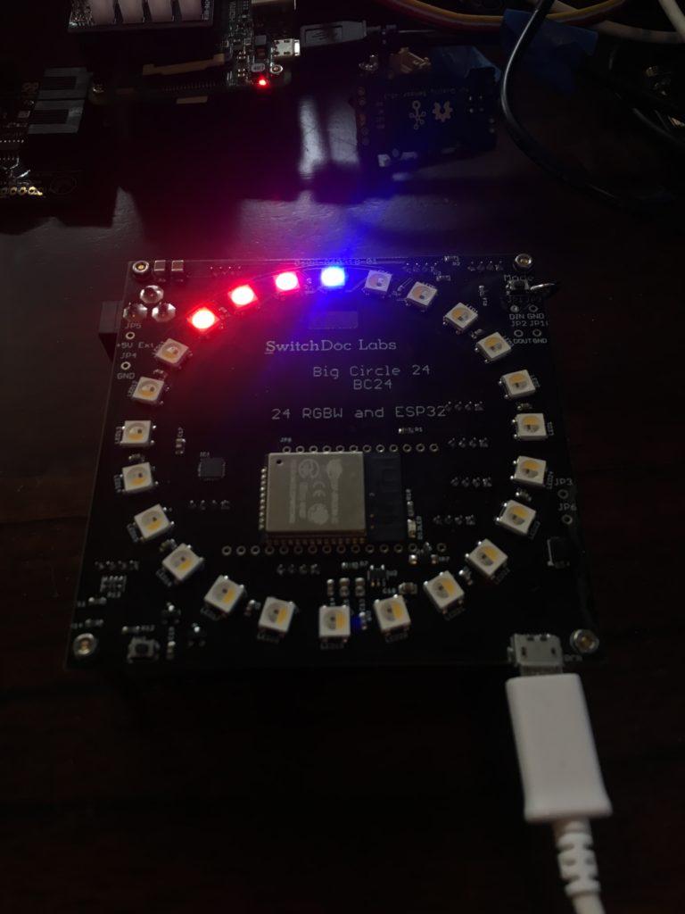 New Kickstarter - The BC24 - ESP32 Based Big Circle 24