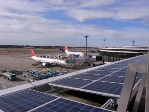 solar powered airport