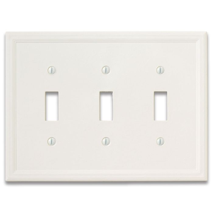 Cornice Insulated White Satin Wall Plates Amp Outlet Covers