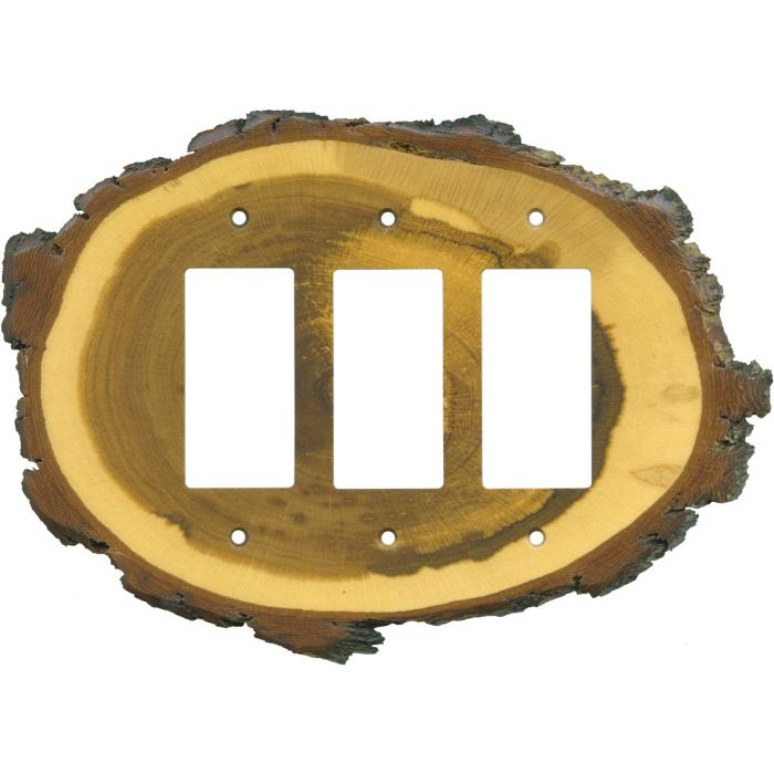 oak slice wall plates outlet covers