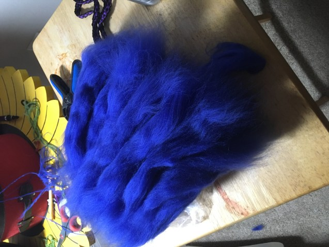Blue unspun Correidale