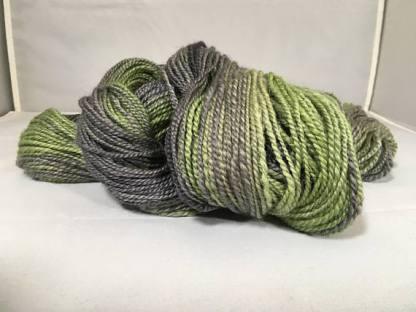 military green yarn