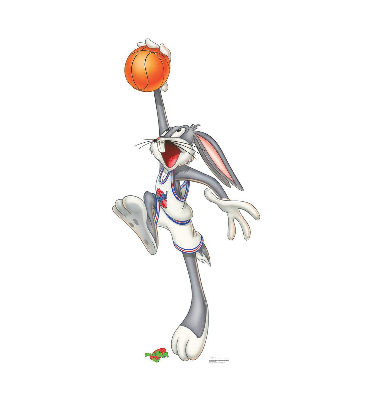 Su Bugs Bunny Space Jam Cardboard Standup