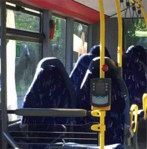 Burkor på bussen?