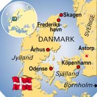 Danmarkskarta