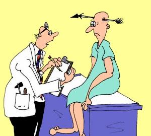 Onödigt läkarbesök på Vårdcentralen