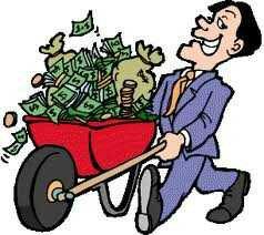 Vem tar hand om pengarna