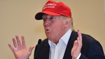 Make America great again med Donald Trump