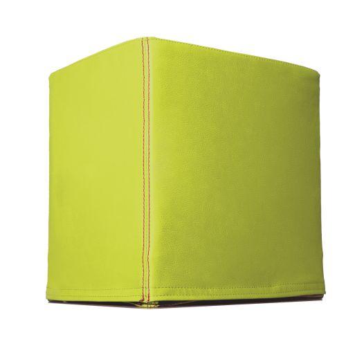 SWOOFLE Mietmöbel Europaweit Overnight - FlatCube grün limone B1 schwer entflammbar