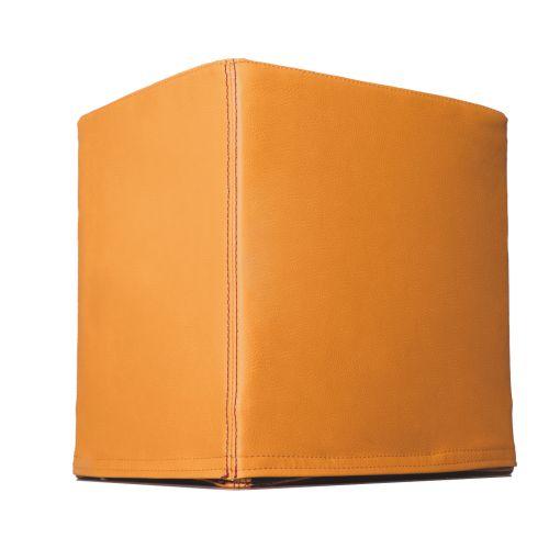 SWOOFLE Mietmöbel Europaweit Overnight - FlatCube orange B1 schwer entflammbar
