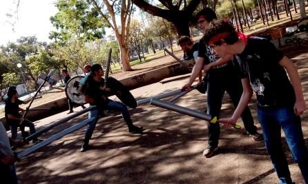 Fotos Torneio de Swordplay - Clã Wolfstrider - Gladius Swordplay