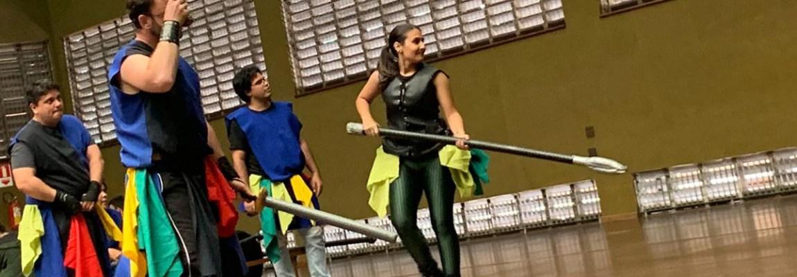 Gladius Swordplay no Sesc Rio Preto!