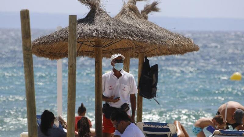 spanien corona aktuell mallorca bereitet sich auf weitreichende maskenpflicht vor sudwest presse online
