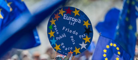 Pulse of Europe Demonstration (Foto: dpa Bildfunk, SWR, Picture Alliance)