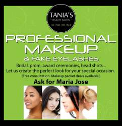 Tania's Salon Makeup Poster