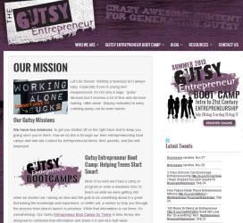 Gutsy Entrepreneur Blog
