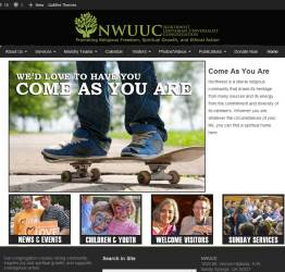 NWUUC Website Home Page