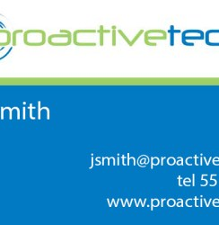 ProactiveTech Business Card
