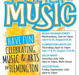 Flemington-summer-of-music-poster
