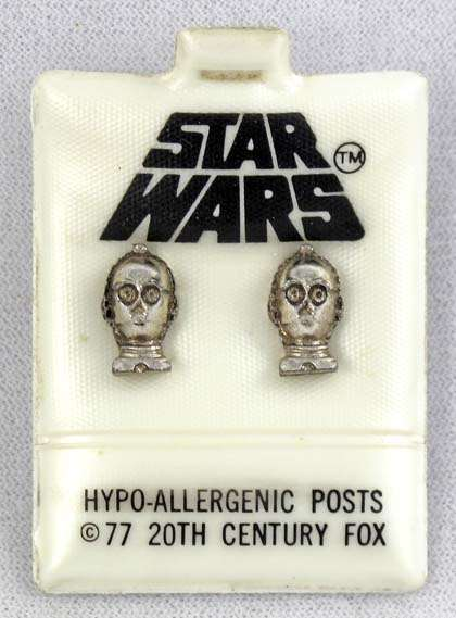 C-3PO Earing Set
