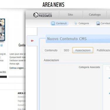 Gestione Dinamica dei Contenuti per inserimento News sul sito (archivio, blog, ricerche per categorie, ecc.)