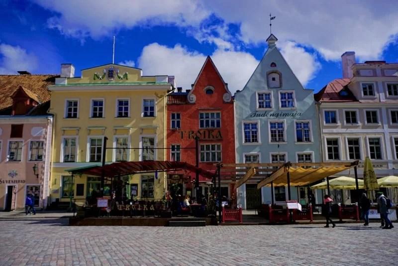 Tallinn Estonia medieval old town