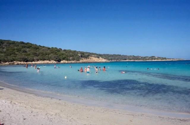 Spiaggia del Relitto, Sardinia