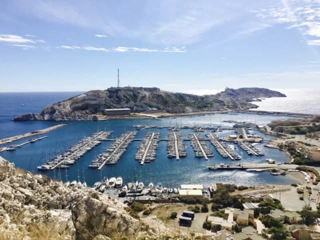 Celebrating Heritage Days in Marseille, France: Ratonneau port