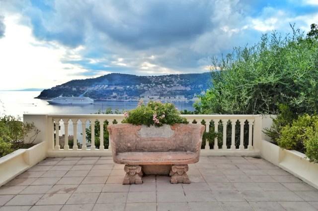 Rothschild bench, Rothschild Villa, Nice, France
