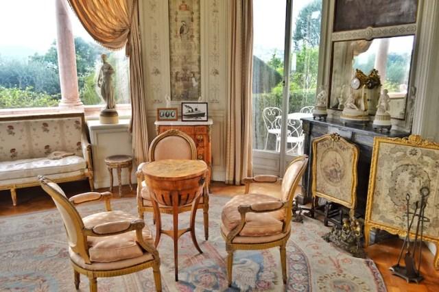 Salon, Rothschild Villa, Nice, France