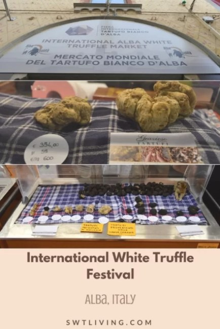 White Truffle Festival in Alba, Italy