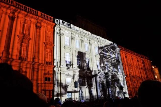 Fête des Lumières Place des Terreaux Lyon