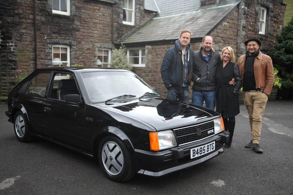 Car SOS TV show restore Astra MK2 GTE