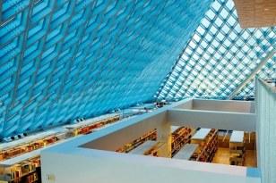 nice blue roof