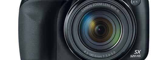 Canon PowerShot SX520 Camera