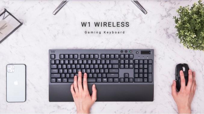 Thermaltake W1无线游戏键盘评论
