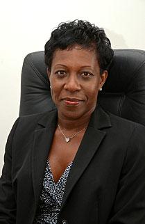 Jeanne Rogers-Vanterpool - Présidente de l'Office de Tourisme de Saint-Martin