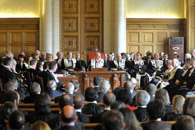 Audience solenne de la Cour des Comptes