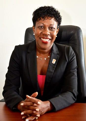 Jeanne Rogers-Vanterpool, Présidente de l'Office de tourisme de Saint-Martin