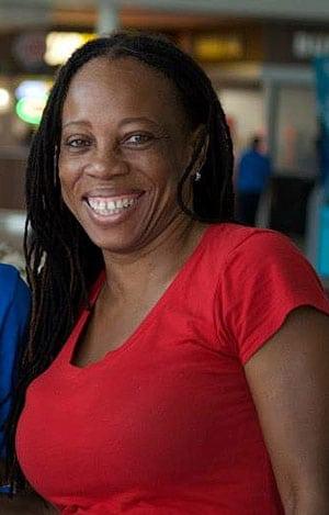 Rhoda Arrindell, linguist, educator, author. (Photo courtesy RA)