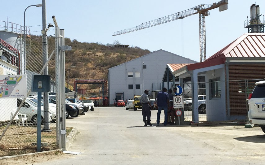 Fin d'intervention pour les pompiers à la Centrale EDF de Saint-Martin