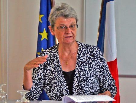 « Si on compare le niveau de nombres de faits que nous avons à l'année par rapport à la population, nous sommes dans une situation d'une délinquance élevée », Anne Laubies, préfète de Saint-Barthélemy et de Saint-Martin.