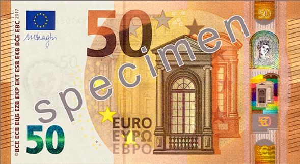 Un nouveau billet de 50 euros en 2017 - 2