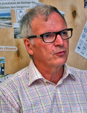 « Les analyses d'eau de mer de la plage de Grandes Cayes n'ont montré aucune pollution due aux effets de la station de stockage des déchets », Patrick Villemin, président de la société SXM-Verde.