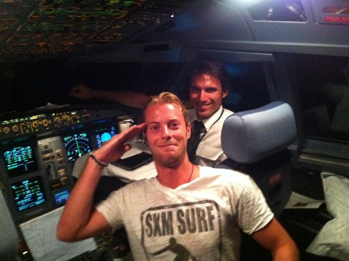 SXM-Surf-Explorer-Jerome-cockpit-Air-France-A340