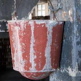 Lonaconing Silk Mill - First Floor Fire Bucket