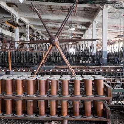Lonaconing Silk Mill - The Factory Floor